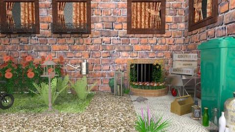 Old Backyard - Vintage - Garden - by yourjieee