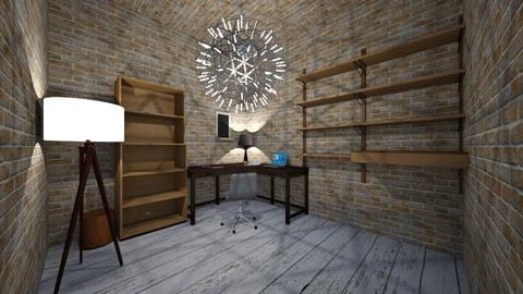 rustic office - Rustic - Office - by pigsfordays