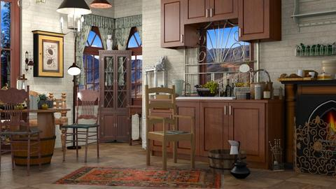 Old Country  - Country - Kitchen - by Gurns