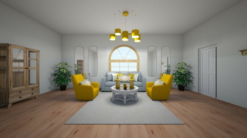 Colorful room - Living room - by Bria Howard
