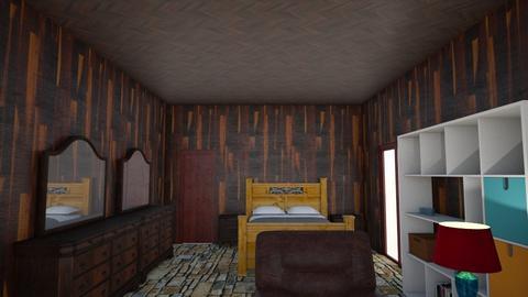 mybedroom 4 - Rustic - Bedroom - by wattenbach
