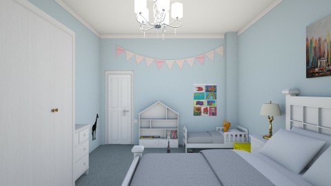 Kids room - Bedroom - by matagi