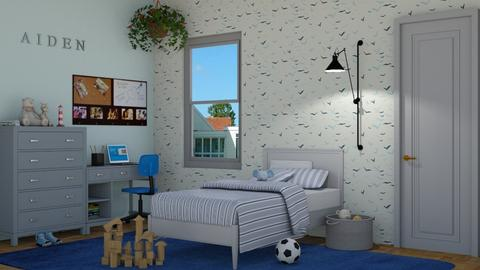 Aiden - Kids room - by lovedsign