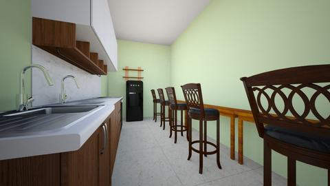 kitchen Design 3 - Kitchen - by kmaleabdullah
