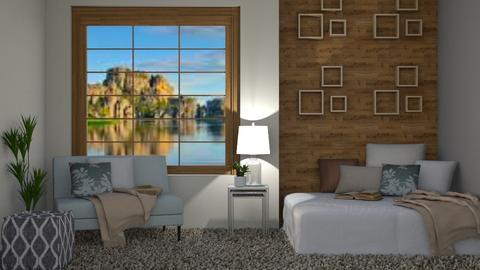 Lake Bedroom - Rustic - Bedroom - by millerfam