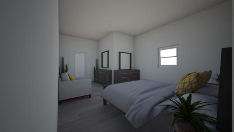 bedroom - Bedroom - by Alejandra De La Cruz