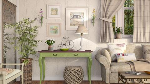 Country Life - Country - Living room - by Sally Simpson