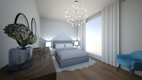 scandinavian bedroom - by annsal