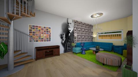 Parter - Masculine - Living room - by TiibTom