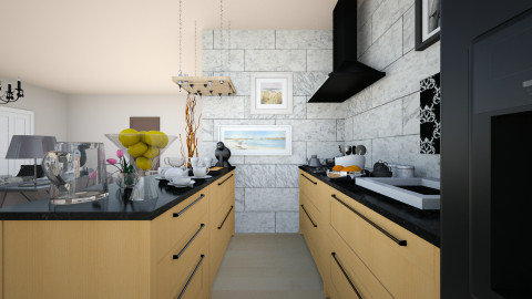 Modern kitchen - Modern - Living room - by veemad