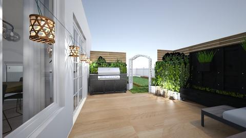 backyard - Garden - by big big