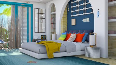 surf_bed - Bedroom - by elyssaumber