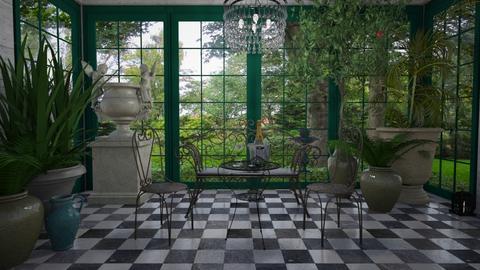 Conservatory - Garden - by Tuija