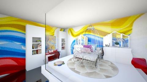 vene querida - Bedroom - by anairisdisenadora