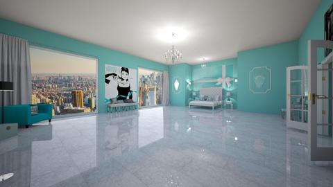 Tiffany and CO room - Glamour - Bedroom - by fashiondesigner7