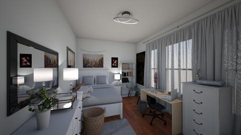 RachelsBedroom - Modern - Bedroom - by rcassy716