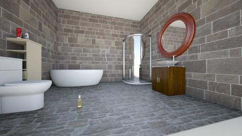 modern bathroom - Modern - Bathroom - by kami1424