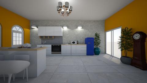 kITCHEN - Classic - Kitchen - by kruchkovadesigner
