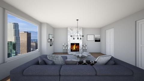 apartment in la - Living room - by sophiejpresley