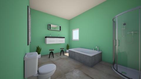 BATH - Rustic - Bathroom - by fowlerol