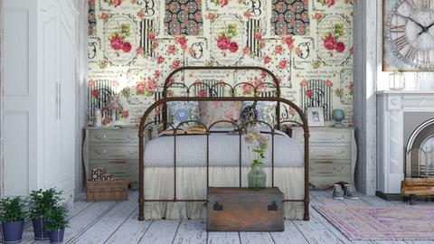 shabby chic - Bedroom - by rasty