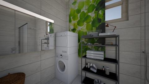 Office with Bath - Modern - Bathroom - by Thaipad