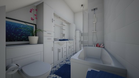 For AleksaM - Eclectic - Bathroom - by Theadora