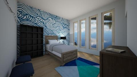 Boys Nautical Room - Modern - Kids room - by ClaireCora