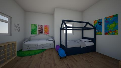 Kids_Bedroom_on_a_budget - Kids room - by Garfield isa cat