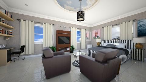 Mr Emmanuel Bedroom  - Modern - Bedroom - by Ehikoncept