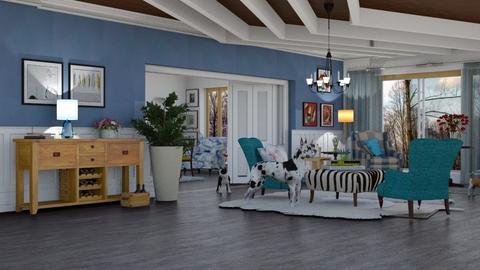 gramy house - Living room - by pachecosilv