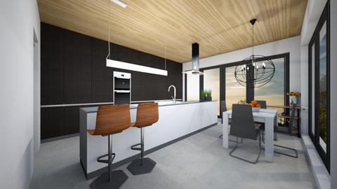 Bucatarie casa - Kitchen - by IoanaC