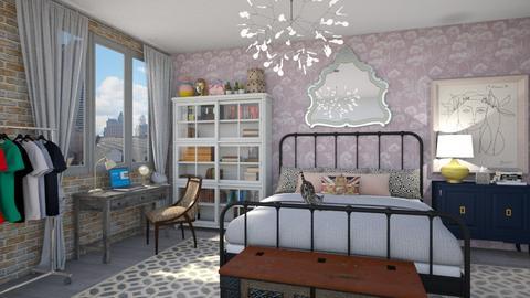 eclectic room - Eclectic - Bedroom - by vee_la_ree