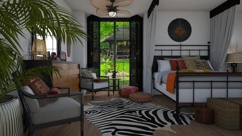 Colonial - Bedroom - by Tuija