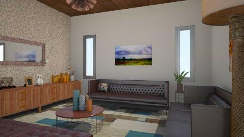 sala boa - Living room - by Naimegouveia