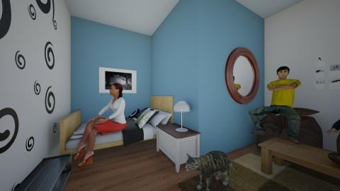 the spare bedroom - Kids room - by Kaylee Mahr