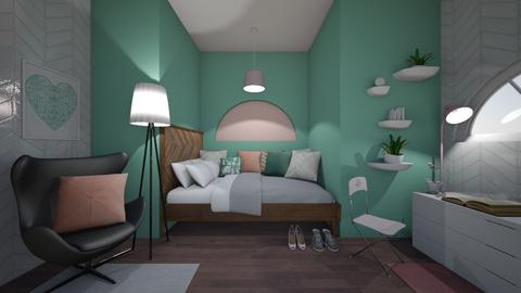 Small Bedroom 7 - Feminine - Bedroom - by XiraFizade
