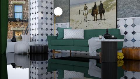 Eccentric - Minimal - Living room - by HenkRetro1960