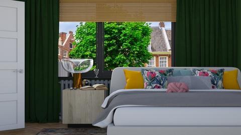 Cozy Bedroom - Modern - Bedroom - by HenkRetro1960