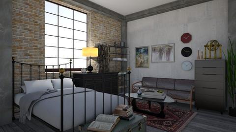 dramarama room - Bedroom - by Lilaah
