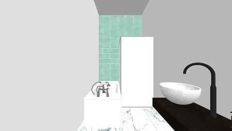 Badkamer - Bathroom - by Barbarahaarlem