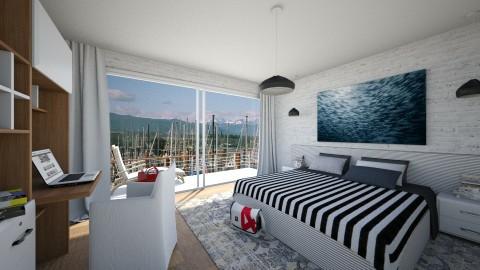 Island Getaway - Eclectic - Bedroom - by Theadora
