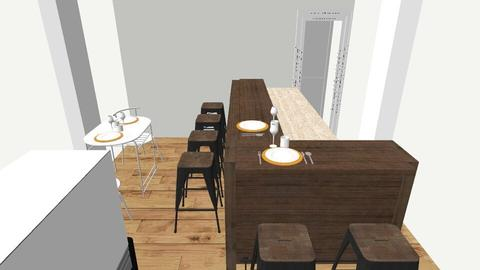 Small Sushi Bar v2 - Minimal - Dining room - by topieariga