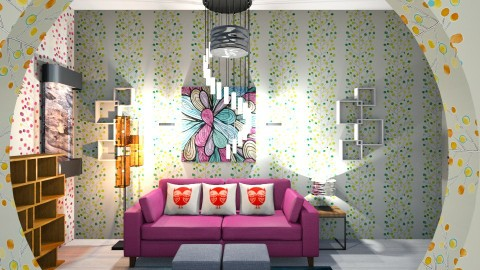 My Inspirational Room - by Arishka Jha