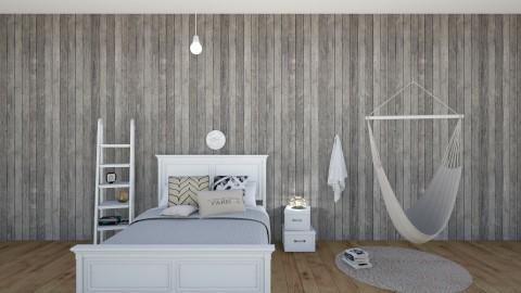 Jess dream room - Minimal - Bedroom - by kristina_bina