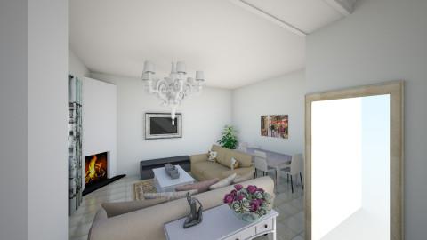 living cosy - Living room - by Maria Eleni Bataki