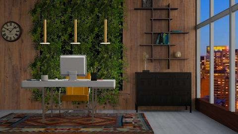 Living wall - Office - by seth96