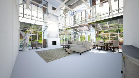 gardens - Living room - by Elvira  Elvira