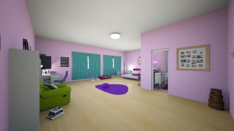 Dream Bedroom - Feminine - Bedroom - by Bea011