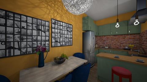 me1 - Modern - Kitchen - by lamzoi